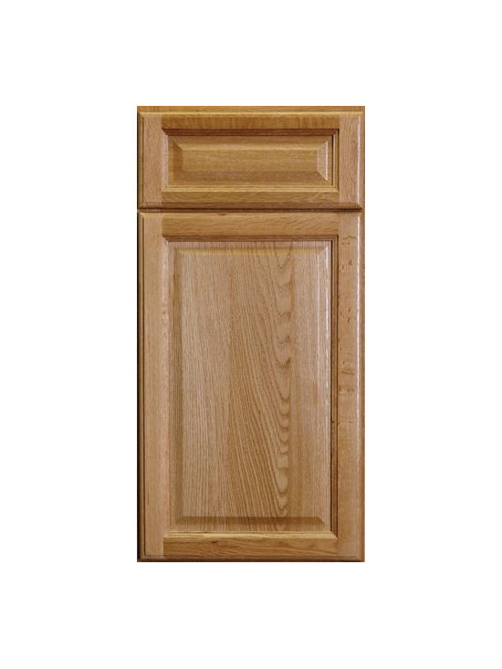 "COUNTRY OAK CLASSIC / Assembled Kitchen Cabinets - Full Overlay Door Style - 3/4"" Solid Oak Face-Frame"