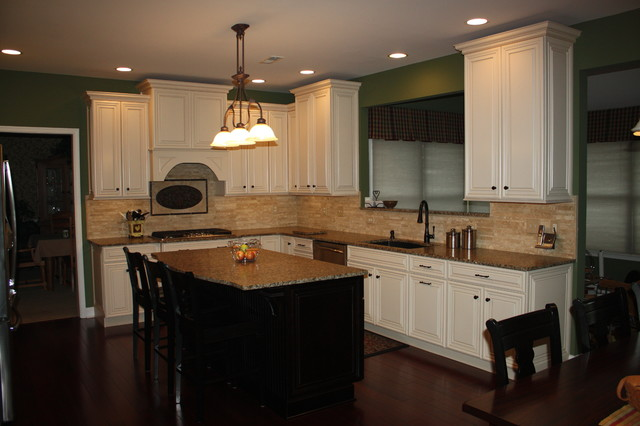 Comfy Kitchen Suite traditional-kitchen-cabinetry
