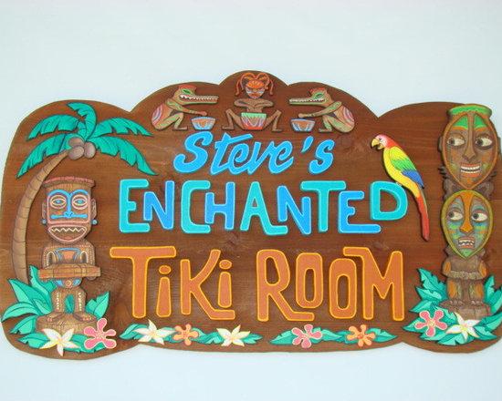 "Enchanted Tiki Room - 32"" by 20"""