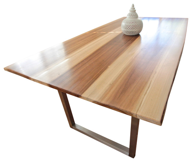 Minimalist Modern Dining Table Desk 6 Person Contemporary Dining Tables By Monkwood Studio