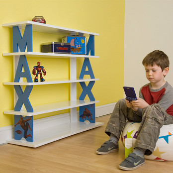 Personalized Bookshelves eclectic-bookcases