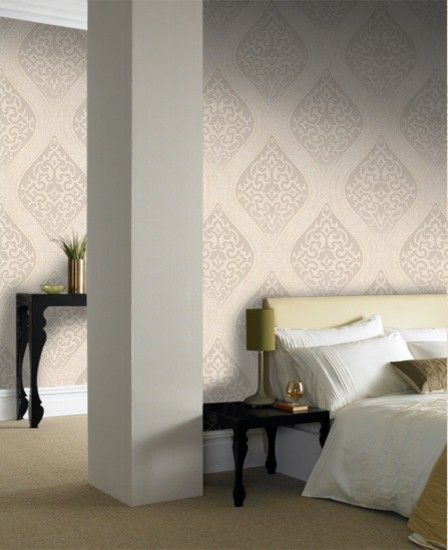 Labyrinth Wallpaper contemporary-wallpaper