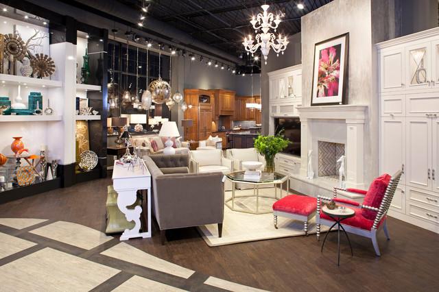 Mingle Showroom transitional-living-room