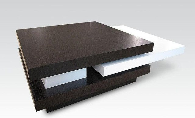 Modern Swivel Coffee Table Butterfly Contemporary
