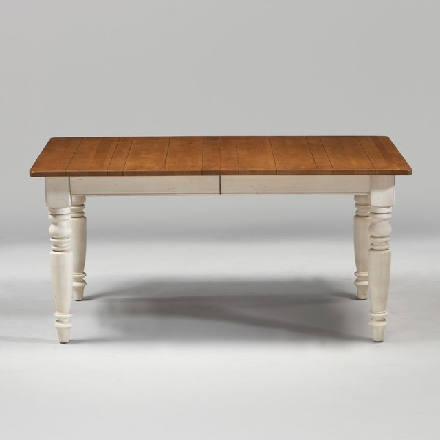 New country by ethan allen miller farmhouse table 62 traditional dining tables by ethan allen - Ethan allen kitchen tables ...