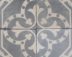 Cement Tile eclectic floor tiles