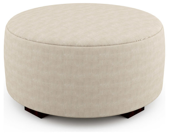 """Mento 36"""" Round Bench – Thick - From standard benches to daybeds, the Mento series of benches is available in a variety of sizes. The firm foam provides solid support no matter how you use the piece. With optional tufting and quilting, the Mento bench gives you many options for different looks..Viesso designs and manufactures this piece of modern furniture. All of the benches from Viesso, along with the sofas and sectionals, are built one at a time in Los Angeles in 3 weeks. With all the custom options available, they are truly built for you and your space.  A custom bench that's also an eco bench. Yes, it's that good."""