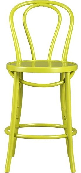 Vienna Green Bar Stool Contemporary Bar Stools And