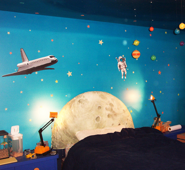 space wall mural eclectic burlington space wall murals examples custom outer space wall murals