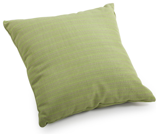 Cat Small Pillow Apple Green Linen Tropical Outdoor