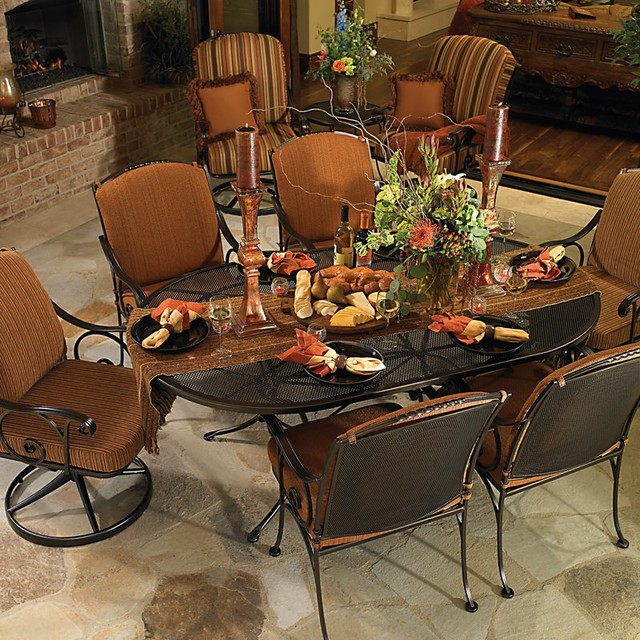 O W Lee Silana Patio Dining Collection Multicolor OWLC356 Contemporary