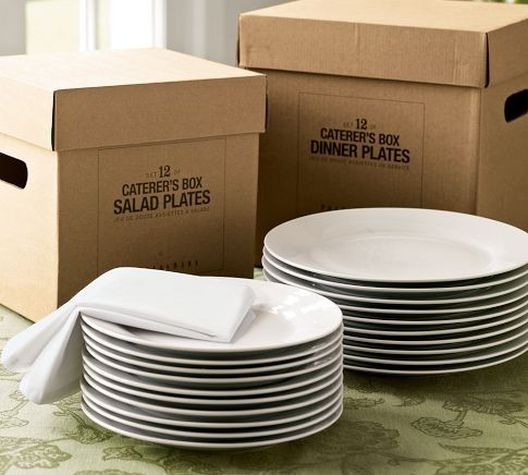Caterer's 12-Piece Dinnerware Set traditional-dinnerware