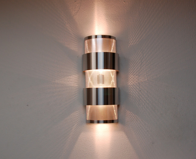 Media room sconces contemporary wall sconces by Contemporary wall sconces for living room
