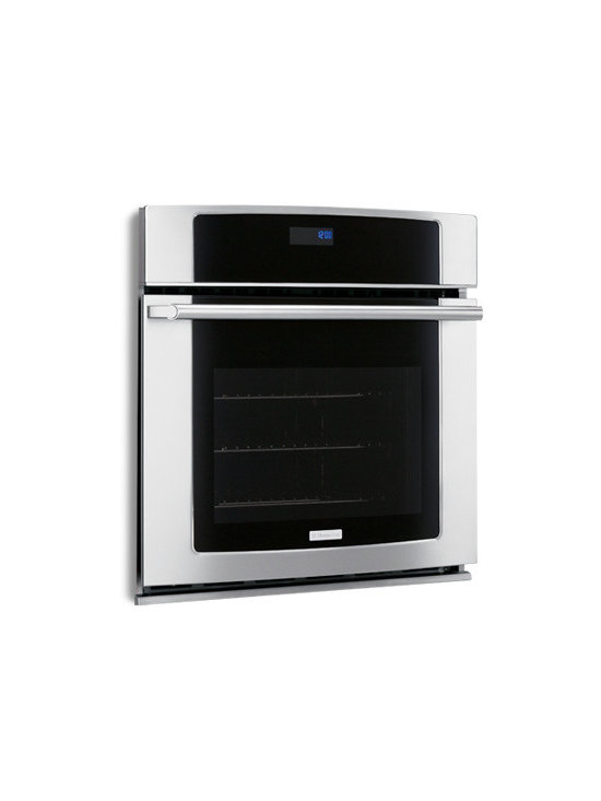 """30"""" Electric Single Wall Oven with Wave-Touch Controls by Electrolux - Sure-2-Fit Capacity"""