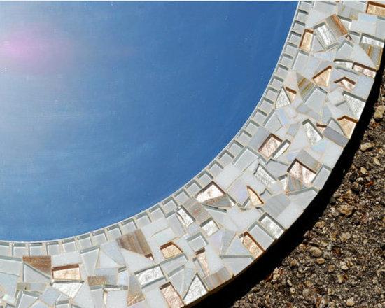 Mosaic Mirrors from Green Street Mosaics -