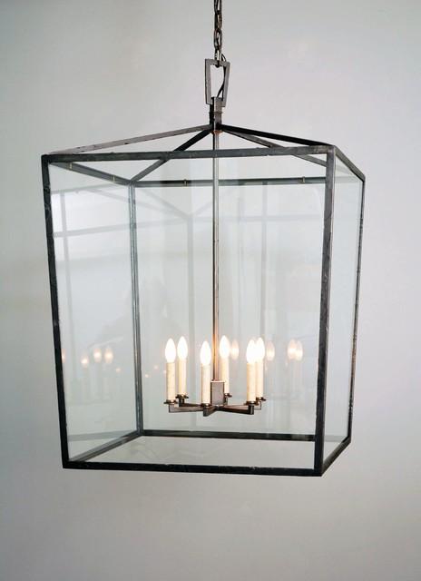 Square Box Cage Lantern