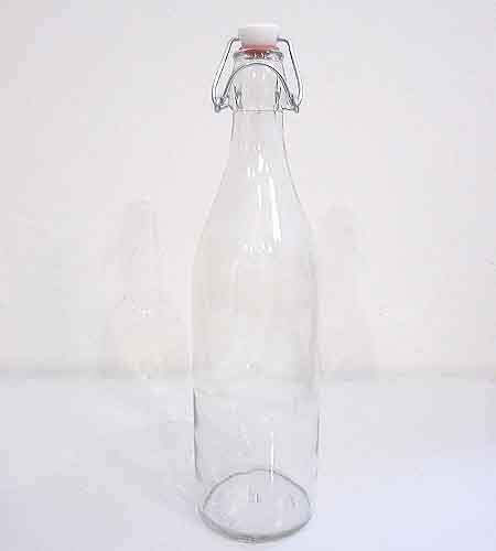 Swing Top Water Bottle traditional-serveware