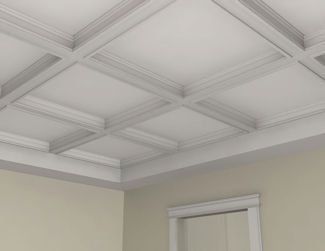 BM3003 Interior Plaster Ceiling Beam Molding And Trim By Mouldex Exteri