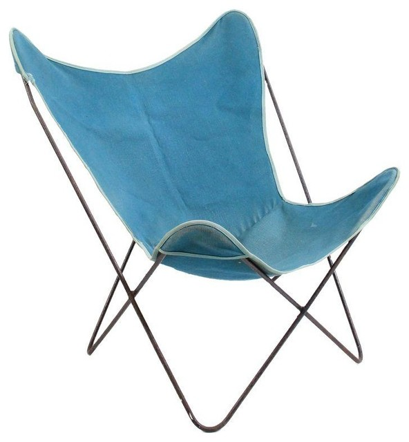pre owned vintage knoll hardoy butterfly chair modern. Black Bedroom Furniture Sets. Home Design Ideas