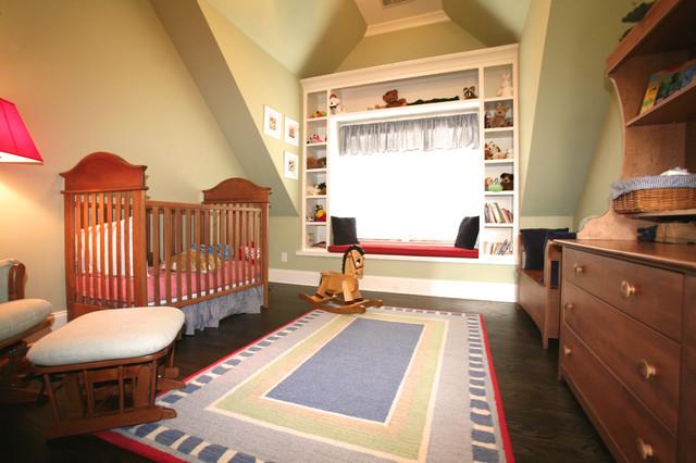 Bedroom traditional-nursery