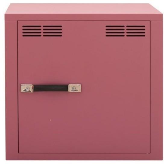 Stack f metal cabinet door antique light pink