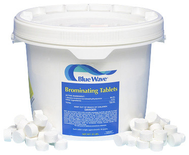 Blue Wave Bromine Tablets - 100 lb traditional-hot-tub-and-pool-supplies