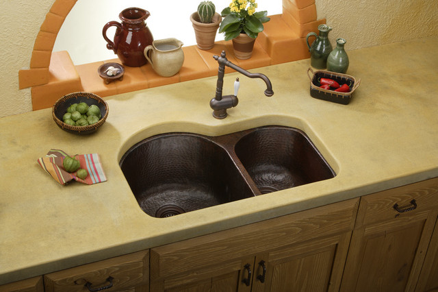 A Sink with Character... Copper kitchen-sinks