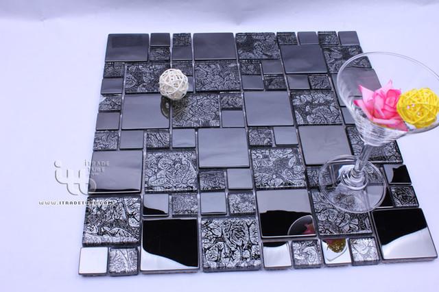 Stainless steel+Glass Series IMMHD-282 modern-tile