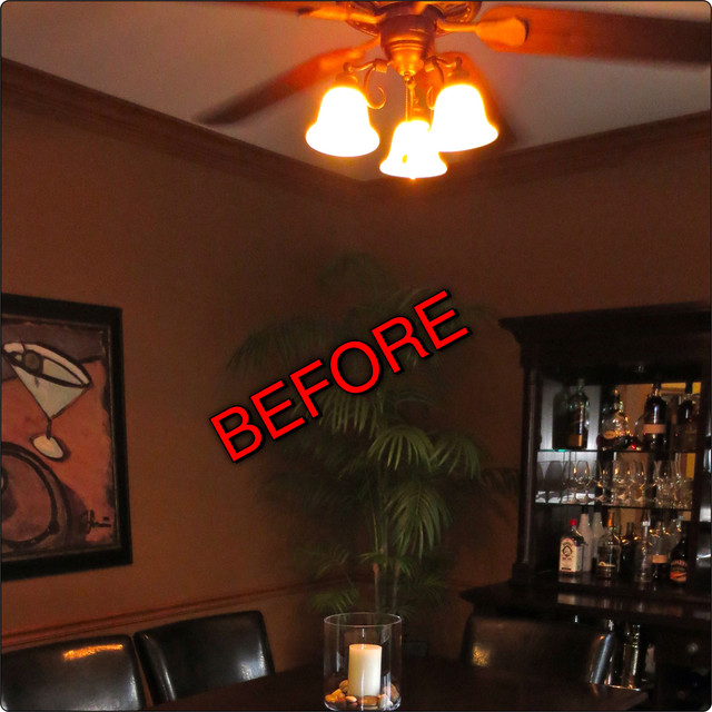 Dining Room Remodel, Naperville, IL- BEFORE AND AFTERS