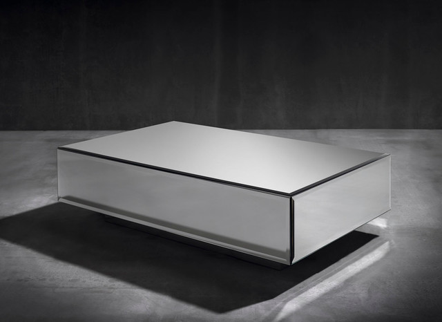 Ghost coffee table with 1 drawer contemporary coffee tables other metro by coleccion Ghost coffee table