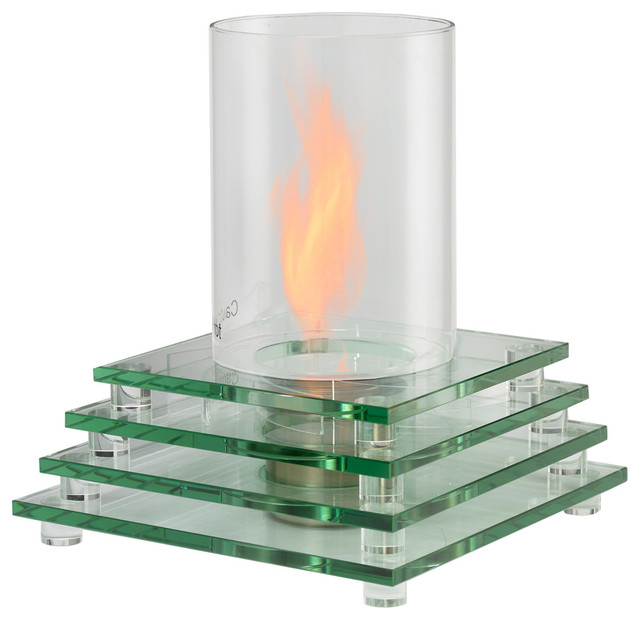 Table top fire pit contemporary tabletop fireplaces by fire