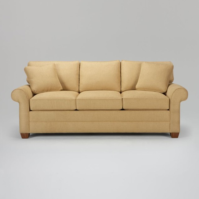 Bennett sofa traditional sofas by ethan allen for Traditional couches