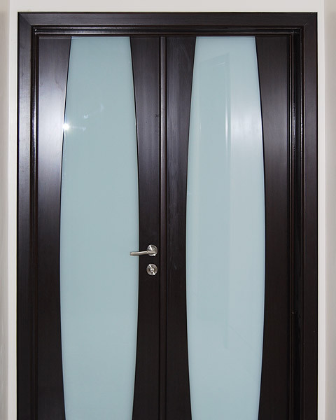 Milano-310 Wenge contemporary interior doors