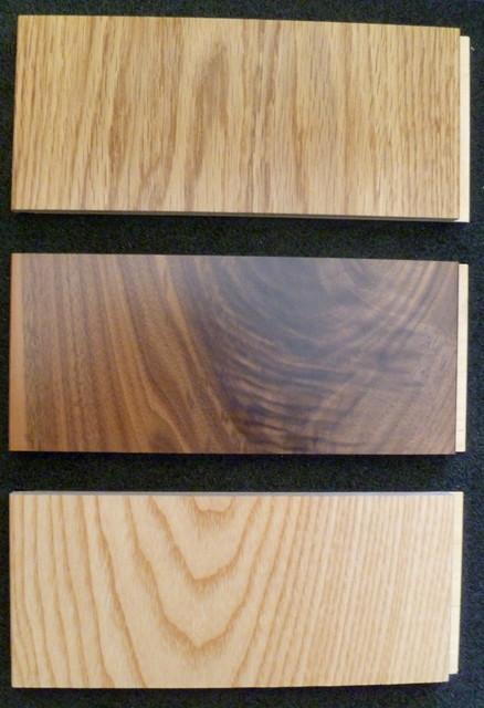Engineered Wood -- Exotics and Old World contemporary-wood-flooring