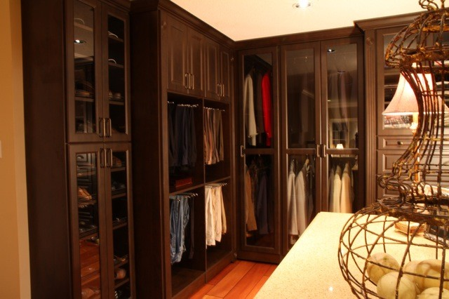 Bedroom Room Conversion Into An Open Concept Dressing Room Traditional Closet Toronto By