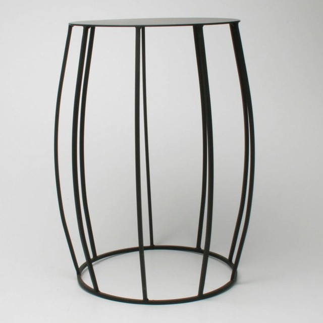 Juno Convex Garden Stool contemporary side tables and accent tables
