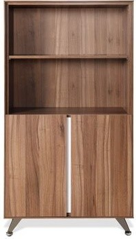 300 Series Bookcase in Walnut modern-filing-cabinets