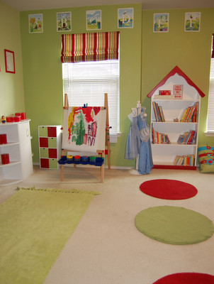Playroom 2 traditional