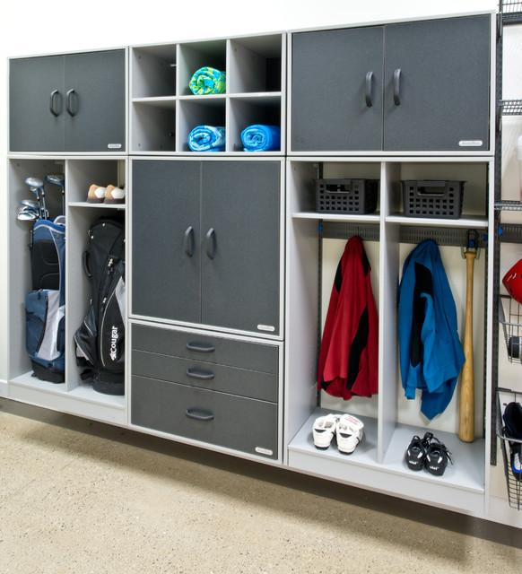Organized Living freedomRail Garage Storage - Traditional - cincinnati - by Organized Living
