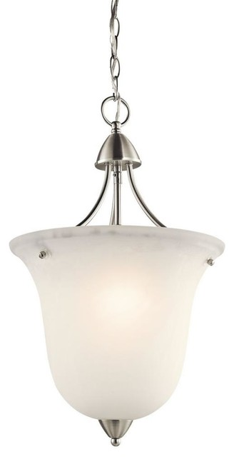 Kichler Lighting - 42882NI - Nicholson - One Light Foyer chandeliers