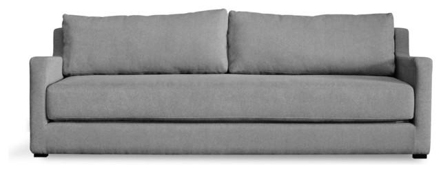 Gus Modern Flip Sofa bed - Baldwin Mist modern-sofa-beds