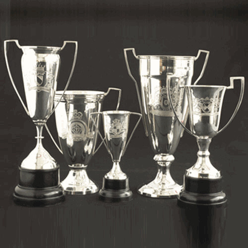 Victoria Engraved Vintage Trophies eclectic accessories and decor