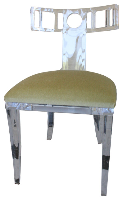 Kim Acrylic Klismos Chair modern-armchairs-and-accent-chairs