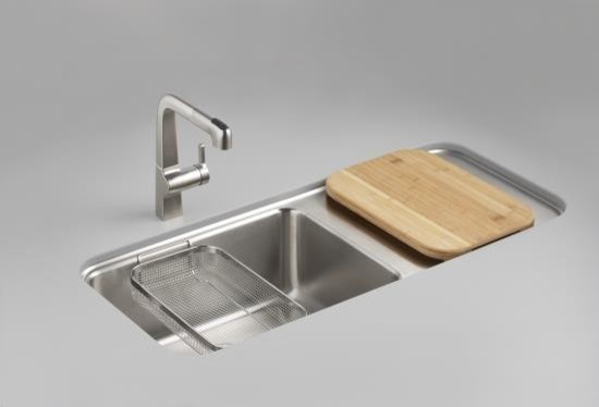 Kohler Kitchen Sinks : All Products / Kitchen / Kitchen Fixtures / Kitchen Sinks