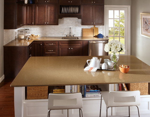 Seifer Countertop Ideas - Traditional - Kitchen Countertops - new york ...