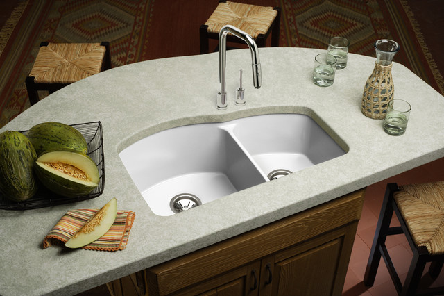 A Walk on the Traditional Side kitchen-sinks