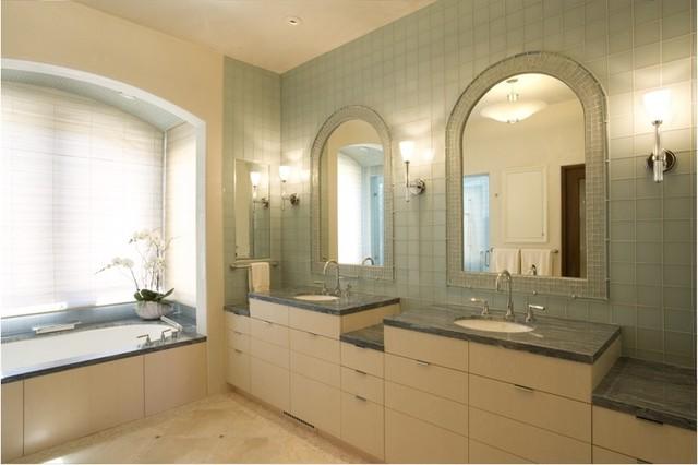 California Mediterranean contemporary-bathroom