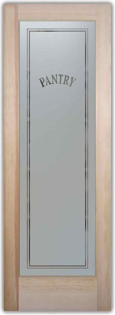 Pantry Door Classic eclectic-interior-doors