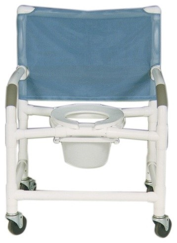 Extra Wide Deluxe Shower Chair and Optional Accessories modern-shower-benches-and-seats