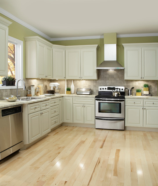 Co Victoria Ivory Kitchen Cabinets  other metro  by Cabinets To Go